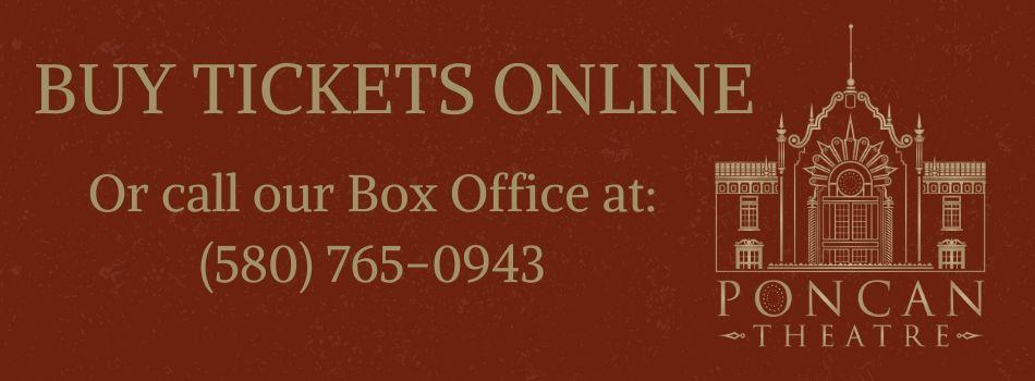Poncan Theatre Company Box Office