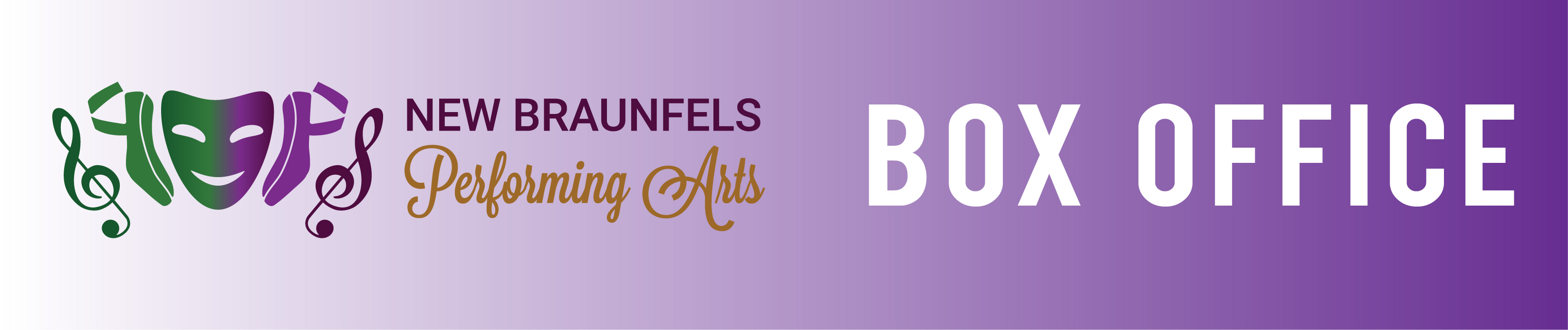 New Braunfels Performing Arts  Box Office