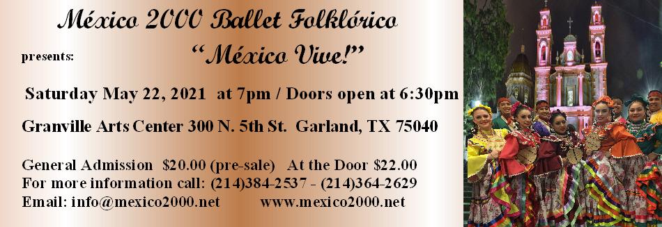 México 2000 Ballet Folklórico Box Office